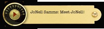 JoNell Samms – Meet JoNell!