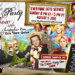 TDPS SUMMER SAMPLER #5: The Dinner Party Show-Show with Jan Burke, Marcia Clark, Caprice Crane, Patricia Cornwell, Pauly David, Greg Hurwitz, Alec Mapa, Ed Marco, Armistead Maupin, Jack Morrissey, Anne Rice, Tony Sweet and Ann Walker