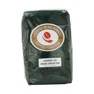 Eric's Favorites ☞ Coffee Bean Direct Jasmine Tea, 1st grade, loose-tea-format, two-pound bag