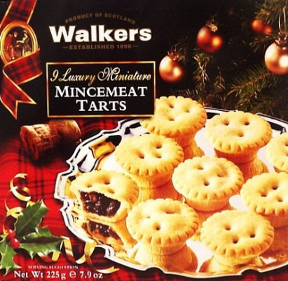Eric's Favorites ☞ Walker's Mincemeat Tarts