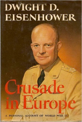 Guest Favorites: Patricia Nell Warren ☞ CRUSADE IN EUROPE by Dwight Eisenhower