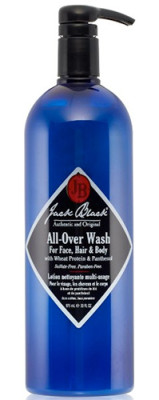 Christopher's Favorites ☞ Jack Black All-Over Wash for Face, Hair & Body