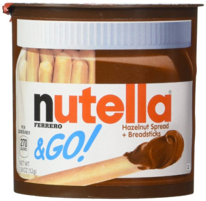 Christopher's Favorites ☞ Nutella and Go!